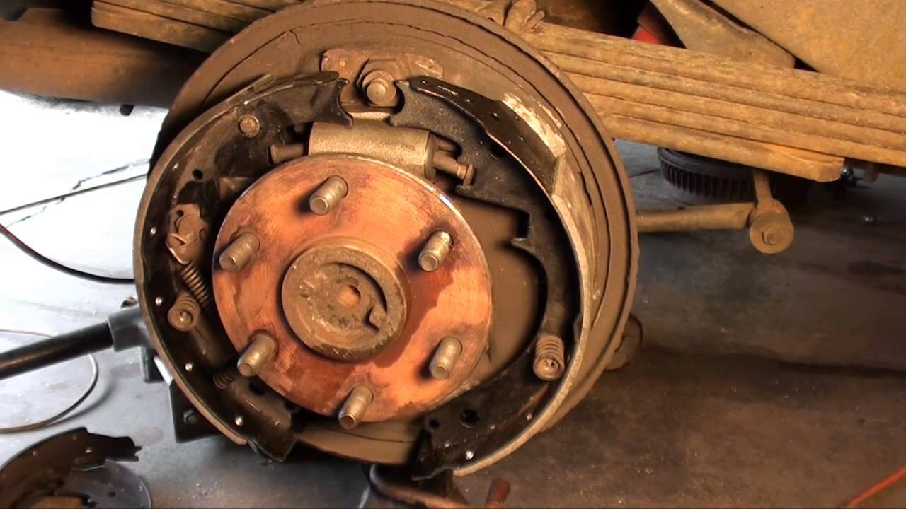 How To Replace Drum Brakes  Wheel Cylinders And Front Pads