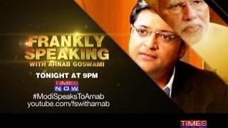 Frankly Speaking With Narendra Modi Part 1