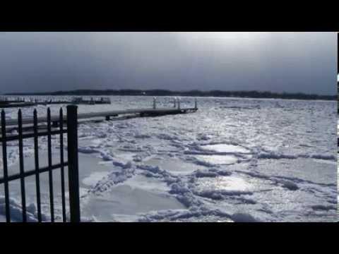 Niagara River Freezes In Polar Vortex Covering Almost Half The U.S.
