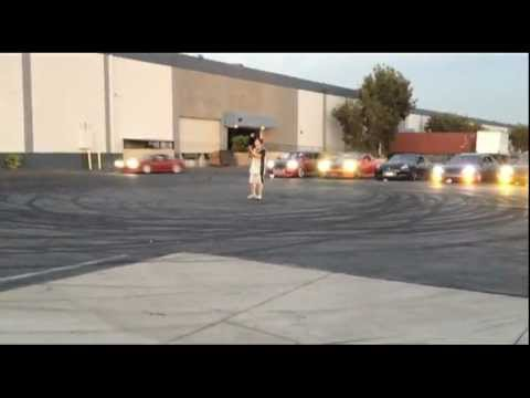 Basketball and drifting stunt..  Johnny Phyfe JDM Sport
