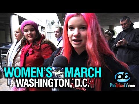 Women's March: Lũ lượt kéo nhau lên thủ đô phản đối Tổng Thống Trump