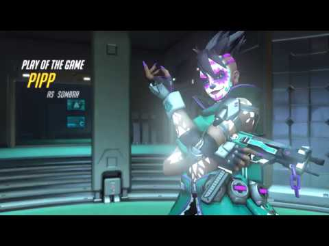OVERWATCH - Surprise Sombra - I got 3 kills and ended up winning the FFA Match