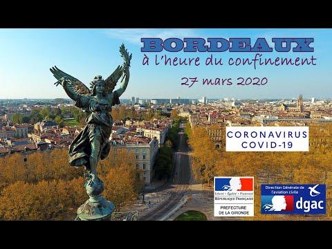 Bordeaux à l'heure du confinement