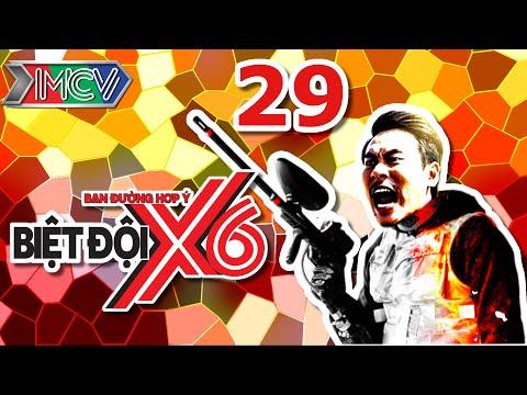 Biệt Đội X6 | Tập 29 | Sao Việt bầm dập với thử thách bắn súng sơn | 29-07-2016.