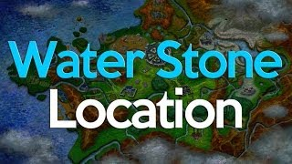 Pokemon X And Y Where To Get A Water Stone (2 Stones