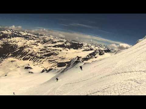 Video Pizzo STELLA 3163m Scialpinismo Skitouren Valle di Lei