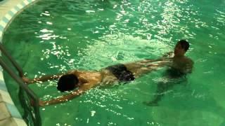 Dạy Bơi Ếch - Bài tập chân thở cơ bản