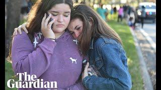 'He shot through my door': survivors recount Florida high school shooting