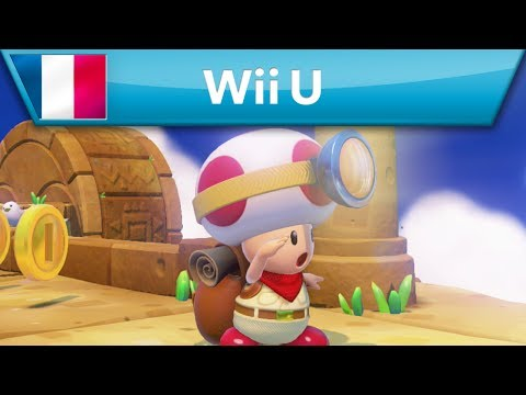 Captain Toad: Treasure Tracker - Bande-annonce (Wii U)