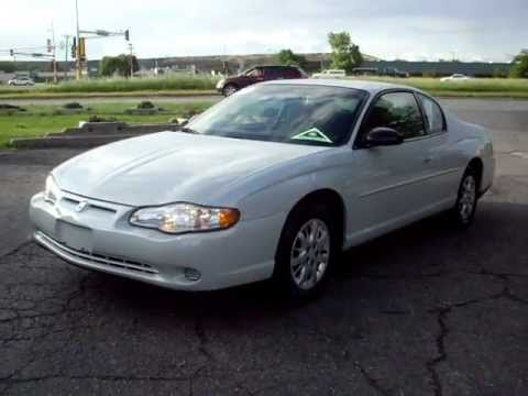 2003 Chevrolet Monte carlo LS, 2 door, 3.4 V6, Cloth, Pearl White