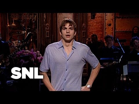 Ashton Kutcher Underwear Monologue - Saturday Night Live