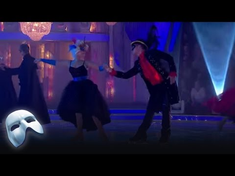 Masquerade from the Dancing on Ice final 2014 - introduction to Torvill & Dean's Bolero