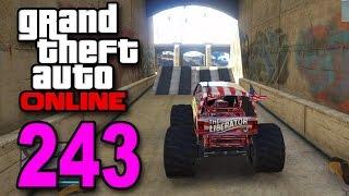 Grand Theft Auto 5 Multiplayer Part 243 Monster Jump