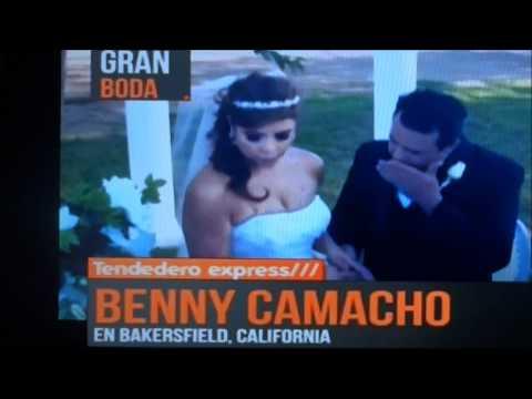 VIDEOROLA EN EL TENDEDERO EXPRESS. ANUNCIA BODA DE BENNY CAMACHO