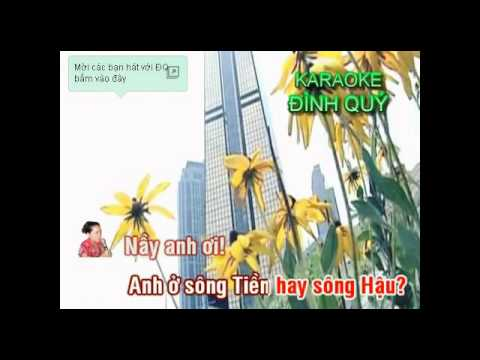 karaoke  CO GAI TUOI DAU    song ca