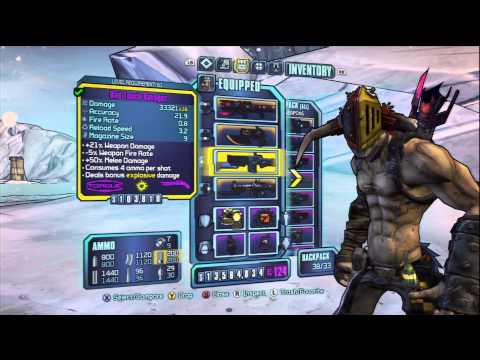 Borderlands 2 - Krieg Build - Th3 AxPloDer - AXE GO BOOM!!