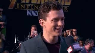 Tom Holland (Spider-Man) Interview - Avengers Infinity War World Premiere Red Carpet
