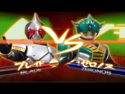 Sieu Nhan Game Play |Game kamen rider climax heroes | Rider Blade vs Rider Agito