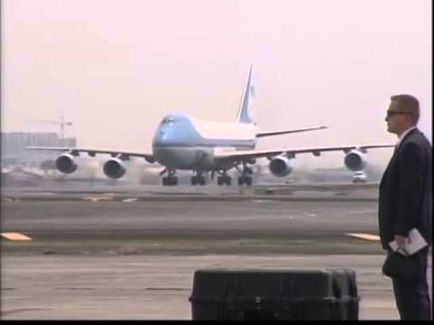 Arrival of US President Barack Obama 4/28/2014