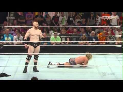 Sheamus returns 2015 WWE Raw HD