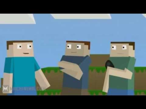 Minecraft O Filme - Ep1 (desenho animado) DUBLADO