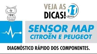 DICA MTE 11 – Sensor MAP Citroën e Peugeot