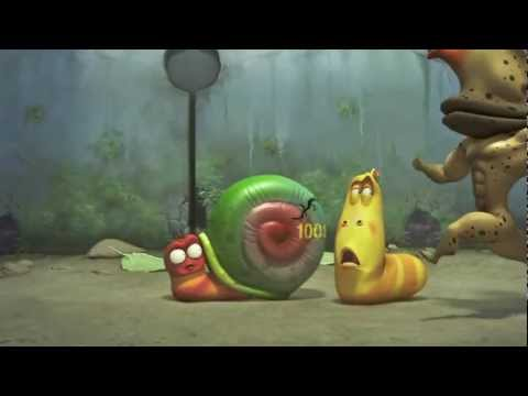 Larva - Lực sĩ Sên - Những chú sâu tinh nghịch