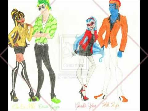 Monster High Drawings by Rsac3 Part 2