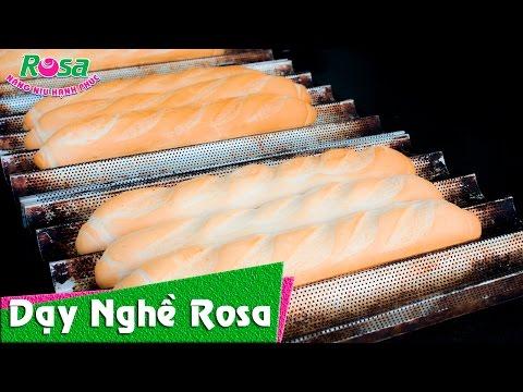 Cách Tạo hình đẹp  Bánh mì Việt Nam - bánh mì Baguette mới!
