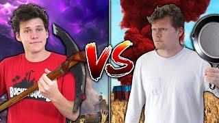 EPIC FORTNITE vs. PUBG KILLS CHALLENGE WITH JESSER!