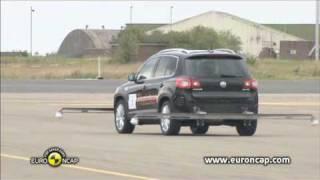 Volkswagen Tiguan ESC test - Euro NCAP 2009