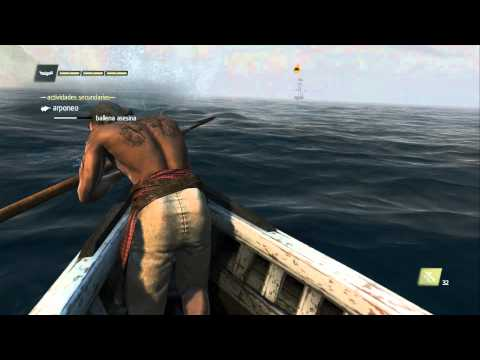 Assassins Creed BLACK FLAG cazando ballenas asesinas