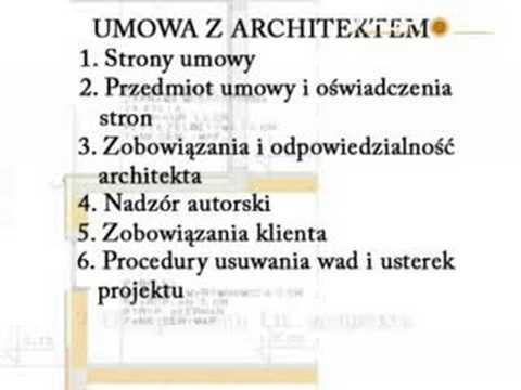 budowa domu - architekt