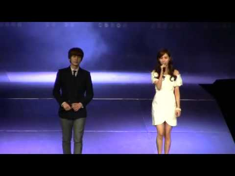 [Fancam][HD] SMTOWN Live in New York - KyuHyun ft SeoHyun - Way Back Into Love