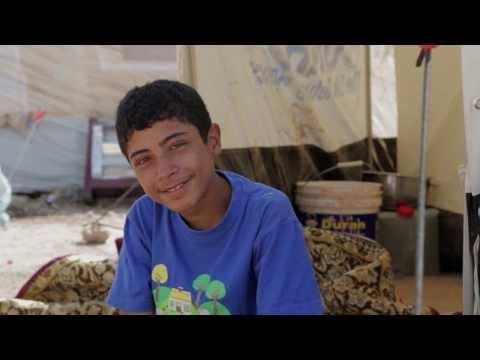 Iraq: UN Chiefs Visits Syrian Refugees