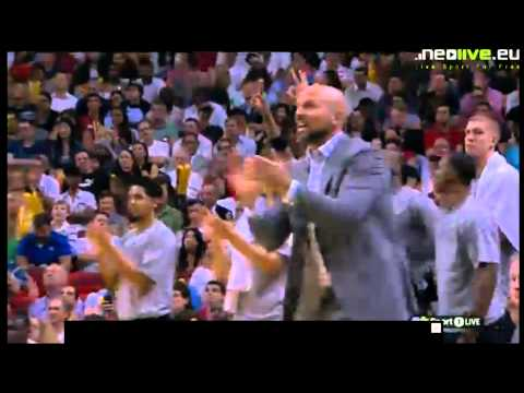Teletovic trojka vs Miami