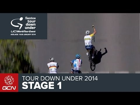Tour Down Under 2014 - Stage 1 Race Report