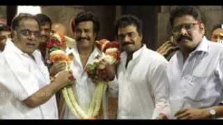 Rajini's Linga Shoot Begins With A Pooja At Mysore Temple