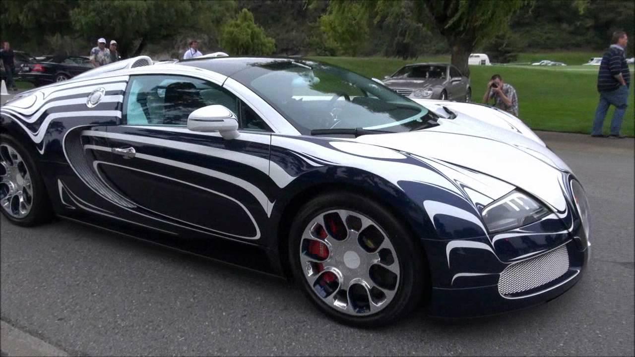 bugatti veyron grand sport l 39 or blanc on the road world 39 s. Black Bedroom Furniture Sets. Home Design Ideas