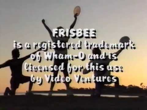 THE FRISBEE VIDEO 1987 Joey Hudoklin Crazy John Brooks Chipper Bro Bell
