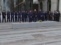 Raw: Scotland Yard Honors Fallen Police Officer