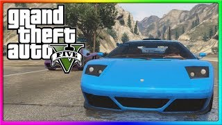 GTA 5 Online Funny Custom Races With The Crew! (GTA