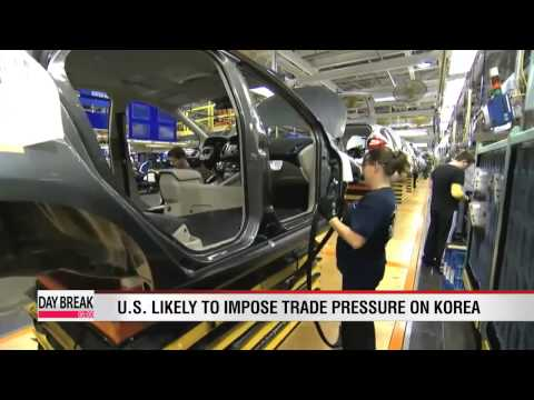 U.S. likely to impose trade pressure on Korea