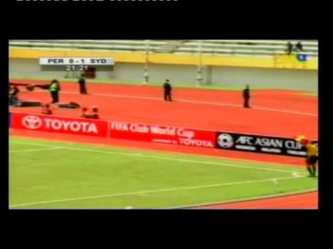Persik Kediri V Sydney FC   1st Half Highlights   12apr07