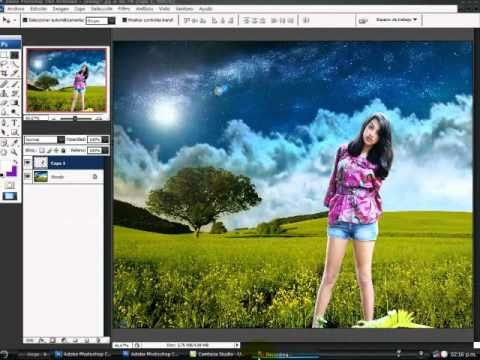 Cambiar el fondo de una foto en photoshop cs5 87