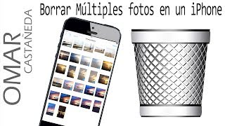COMO BORRAR MULTIPLES FOTOS EN UN IPHONE