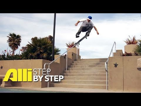 Alli Skate Videos - Step By Step: Tyler Hendley, How to do a 360 Flip (Trick Tip)