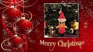 (1 Loom Edition) How To Make Rainbow Loom Santa Minion