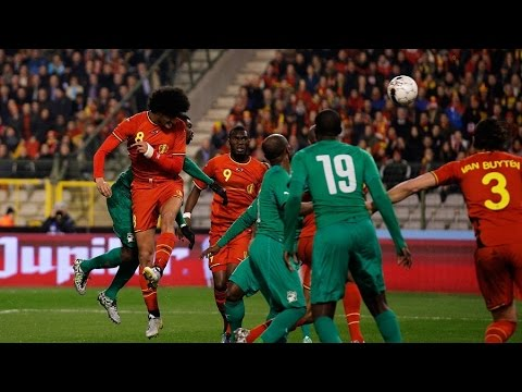 BELGIUM 2-2 Ivory Coast   Friendly   2014/03/05