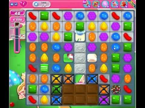 Candy Crush Saga Level 79 - YouTube